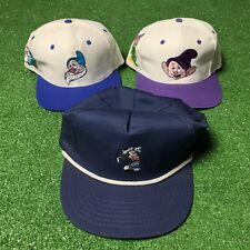 Vintage Walt Disney Orlando Hat Lot 3 Mickey Mouse