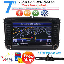 AUTORADIO Navigatore Gps For SEAT ALTEA LEON VW GOLF 6 Bluetooth Car Stereo DVD
