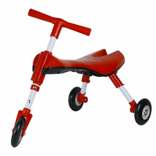 Scooter Bug Tricycle, Foldable Glide Trike Ride For Toddlers, Non Scratch Wheels