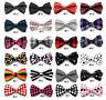 Tuxedo Pre-Tied Adjustable Silk Party Ties Men Necktie Bow Tie Wedding Novelty
