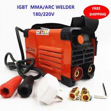 Mini MMA IGBT Handheld Schweißer 220 V 20-250A Inverter ARC WIG Schweißmaschine