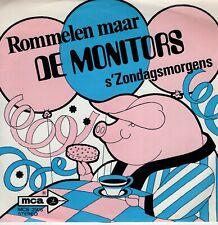 7inch DE MONITORSrommelen maarHOLLAND 1970 EX  (S2350)