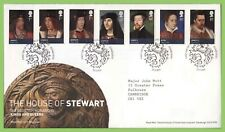 G.B. 2010 House of Stewart set on Royal Mail First Day Cover, Tallents House