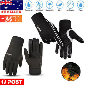 Winter Warm Thermal Outdoor Sports Waterproof Windproof Touch Screen Ski Gloves