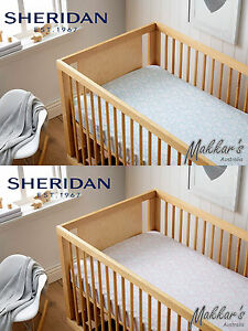Sheridan Baby 100% Cotton Printed Cot Fitted Sheet