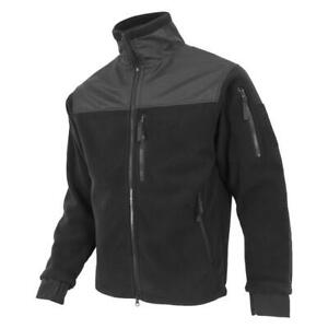 Condor Micro Fleece Jacket (Black, Large)