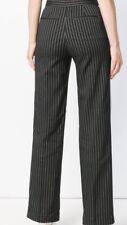 NWT Ann Taylor Black Pinstripe Flare Leg Dress Pants 2 (Retail $98)