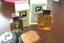 Vtg Mens Paco Rabanne Lot Eau De Toilette 2 oz. 60 ml After Shave 125 ml Soap