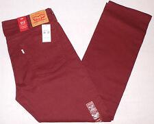 Levi's 513 Men's Slim Straight Colored Jeans W38L32 Stretch 38X32