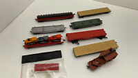 HO Rolling Stock Various Flatbed Rail Cars Lot Of 8