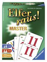 Ravensburger 20756 - Elfer raus Master Kartenspiel für 2-6 Spieler