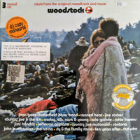 WOODSTOCK Music From The Original Soundtrack RSD mono vinyl 3-LP NEW/SEALED