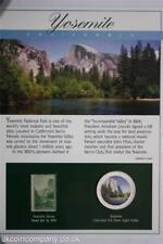 2005 Yosemite National Park cachet et colorisée 1 oz (environ 28.35 g) Silver Eagle COIN cover