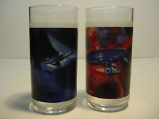 Star Trek Collectible Glasses set of two
