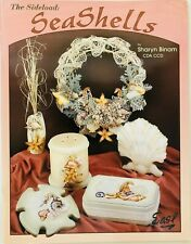The Sideload Seashells by Sharyn Binam Decorative Tole Painting Pattern Book