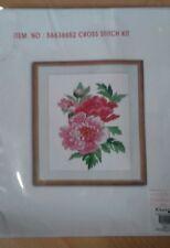 Floral Kit Punto De Cruz