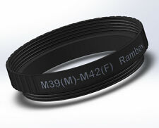 Rambex M39 x 1mm Male to M42 Female Mount thread lens Adapter converter Ring