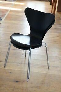 1/2 Fritz Hansen Arne Jacobsen Stuhl  1969 Modell 3107  Chair
