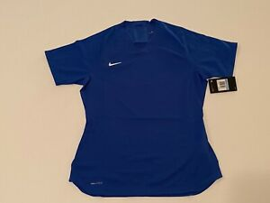 $70 Nike SZ L Women's Vaporknit Soccer Jersey Blue AQ2727-480 Size Large