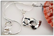 925 Sterling Silver Masquerade Mask Charm