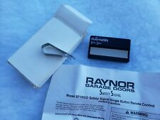 RAYNOR  971RGD (1-Button) Garage Door Gate Opener Remote NEW BATTERY - UNTESTED