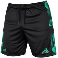 Adidas Tanc Shorts Herren Sport Hose Bermuda Laufhose Fußball Tango schwarz/grün