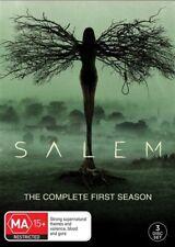Salem : Season 1 (DVD, 2016, 4-Disc Set)