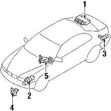 bmw car truck cruise control units ebay 1999 BMW M5 bmw 51 11 7 142 195 bracket ultrasonic sensor