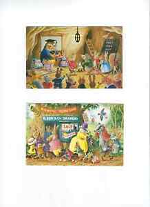 2  COLLECTABLE CHILDREN'S POSTCARDS BY THE ARTIST RACEY HELPS