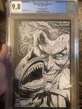Batman: Three Jokers #1 CGC 9.8 2nd Print 1:25 Sketch Variant Johns & Fabok L@@K