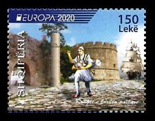 "Albania 2020 "" Europe 2020 - Ancient postal routes "" send it within the day"