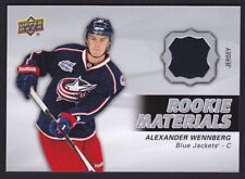 2014-15 Upper Deck UD Game Used Rookie Materials Jersey #RM6 Alexander WENNBERG