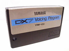Yamaha MSX DX7 Voicing Program YRM-103 RARE Cartridge for Vintage Computer Syst.