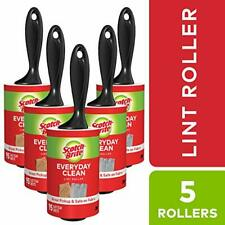 Scotch-Brite Lint Roller Combo Pack 5-Rollers 95-Sheets/Roller 475 Sheets Total