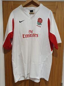 England Sevens Rugby shirt 2005 - Size XL - Nike - RFU - Rugby Union