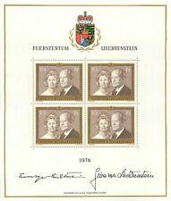 Liechtenstein Kleinbogen Li 614 postfrisch 1974
