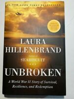 Unbroken NY Times Best Seller WWII True Story of Survival by Laura Hillenbrand