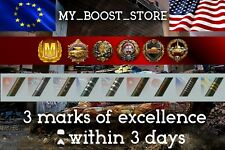 World Of Tanks (WOT) 3 Marks of Excellence | TIER 8 | 3 Days | NOT BONUS CODE |