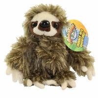 Adventure Planet Plush - BROWN SLOTH (6 inch) - New Stuffed Animal Toy
