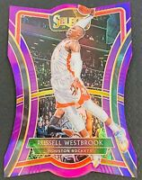 2019-20 Russell Westbrook Panini Select #197 Purple Prizm Die-Cut /99 ☄️