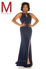 Mac Duggal 76996F--Color: Midnight--Size 16 --Prom Dress-Reg $578