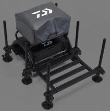 Daiwa Seat Box Cover Black W42 x D30 x H17cm Adjustable Coarse Match Fishing