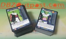 Dragon Ball Z Common + Uncommon x3 Play Set! Panini DBZ TCG Heroes & Villains