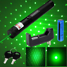 990miles Green Laser Pointer Pen Astronomy Star Beam Rechargeable Lazer Torch