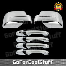 For Jeep Patriot 08-12 Chrome Mirror Cover, Door Handle Cover W/O Pskh
