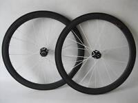 Carbon cyclocross wheels 50mm clincher carbon wheel novatec disc hub White spoke