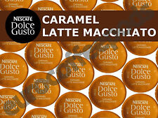 Dolce Gusto Latte Macchiato Caramel Pods 100 Capsule 50 Coffee/ Milk Sold Loose