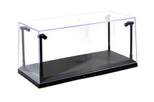 Collectible Acrylic Display Case w. LED lights for 1/18 Scale Diecast Model car