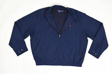 Polo Golf Ralph Lauren, XL Long Sleeve Solid Golf Blue Polyester Casual Men Jack