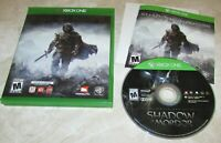Middle-Earth: Shadow of Mordor  With Case for Xbox One Fast Shipping!